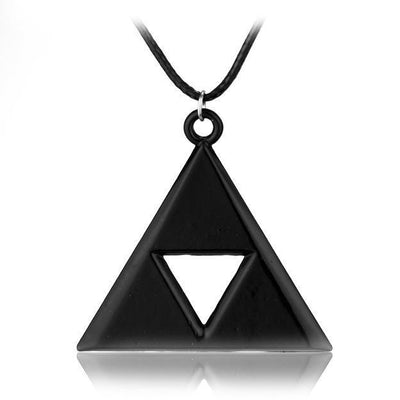 Black Triforce Necklace anime-store