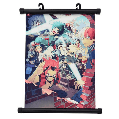 Boku No Hero Academia Wall Scroll 2 anime-store