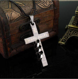 Death Note Alloy Cross Necklace anime-store