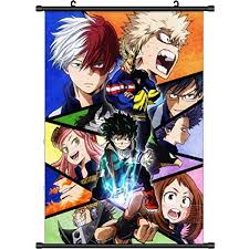 Boku No Hero Academia Wall Scroll