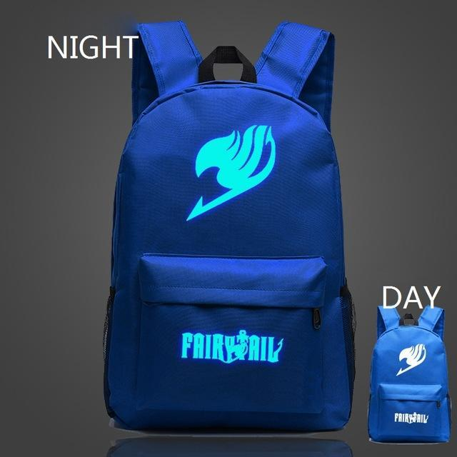 Fairy Tail Cosmic Glowing Backpacks anime-store