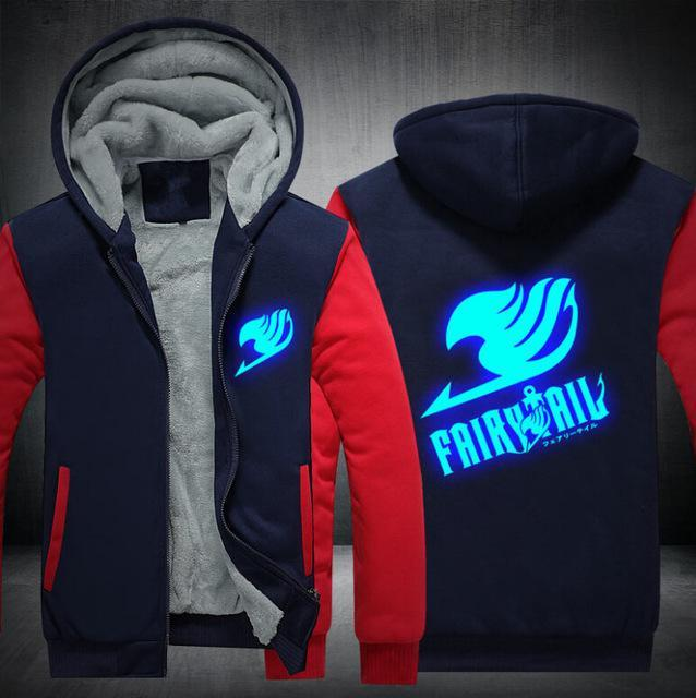Fairy Tail Fleece Zip Jacket anime-store