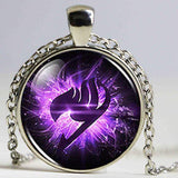 Fairy Tail Glass Icon Necklace anime-store