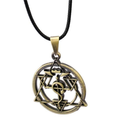 Fullmetal Alchemist Bronze Necklace anime-store