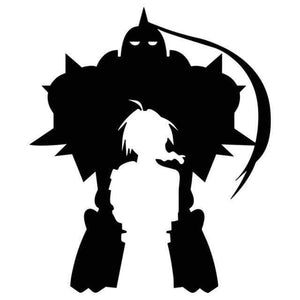 FULLMETAL ALCHEMIST BROTHERS CAR/ LAPTOP STICKER! anime-store