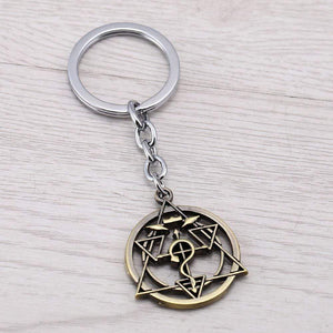 Fullmetal Alchemist Keychains-Magic Circle Model anime-store
