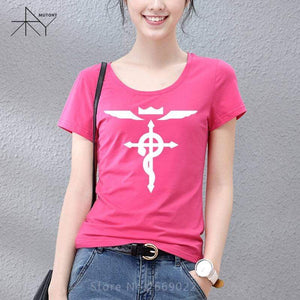 Fullmetal Alchemist Womens T Shirt | Collection #1 anime-store