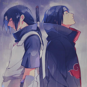 Itachi Uchiha Wall Scroll! anime-store