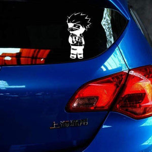Kakashi Standing Car Decal Sticker anime-store