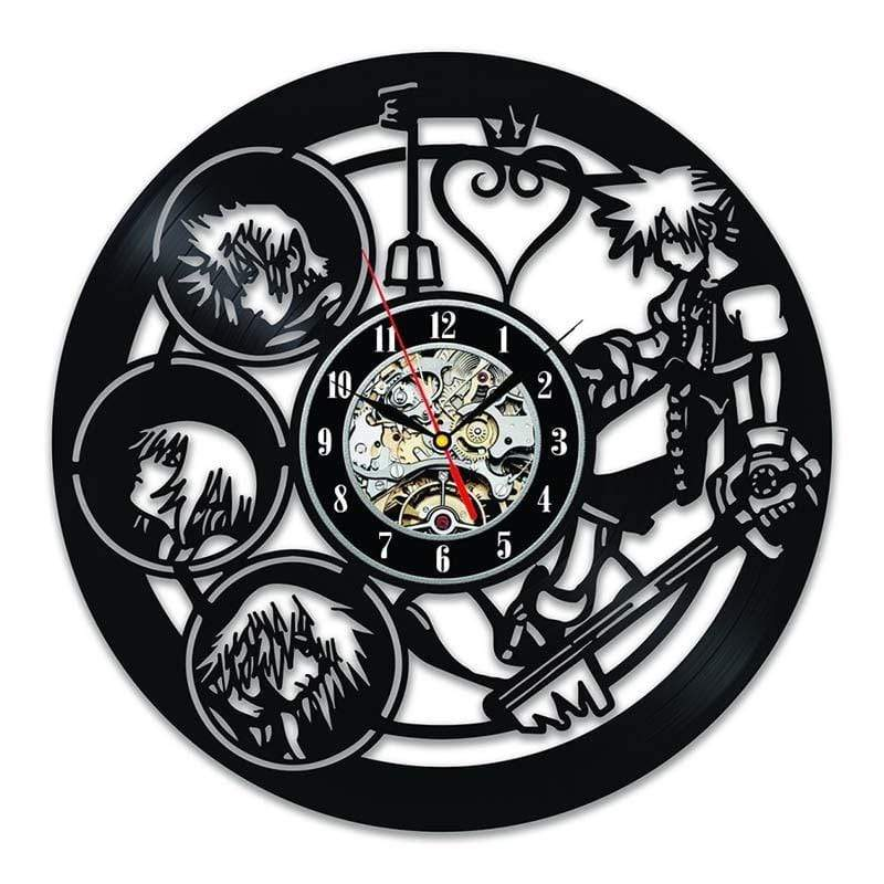 "KH Wall Clock 12"" anime-store"