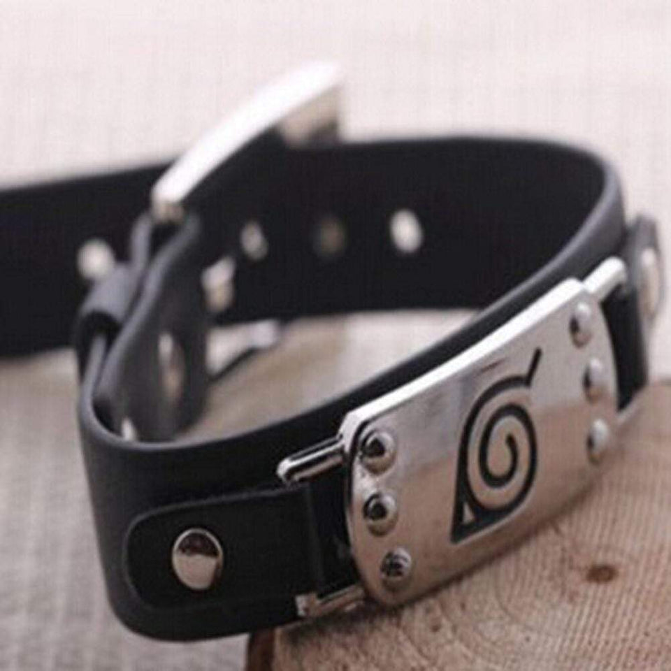 Konoha Punk Bangle Bracelet anime-store