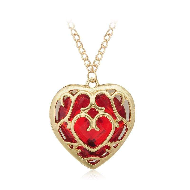 LOZ Heart Container Necklaces & Keychains anime-store