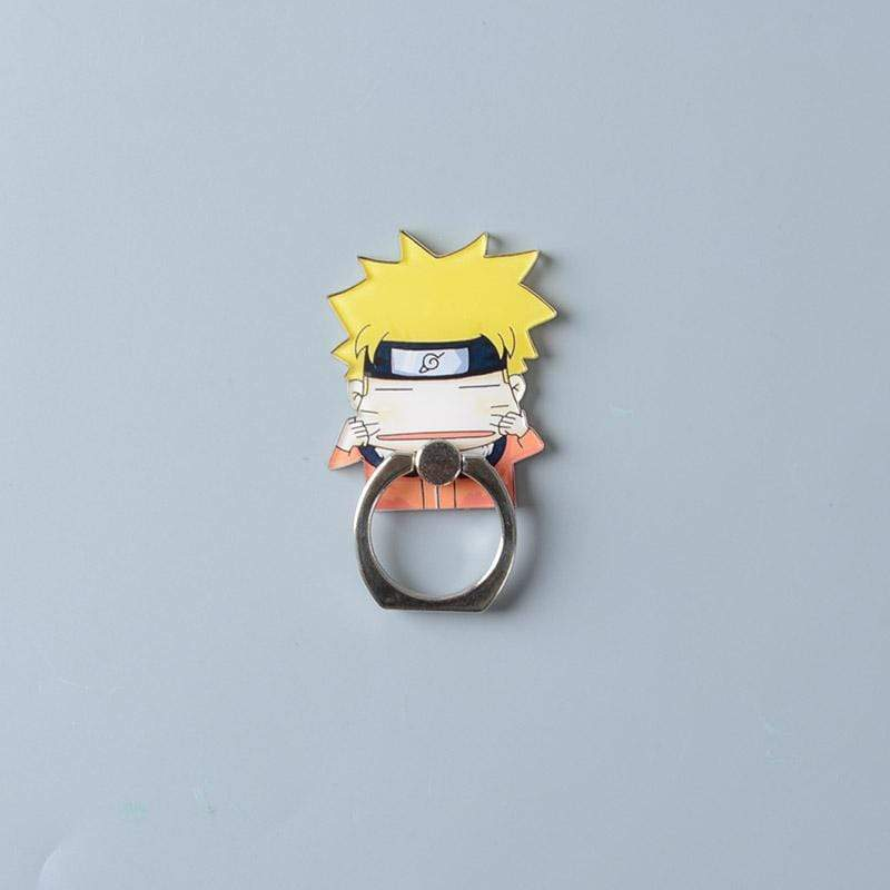 Naruto 360 Degree Finger Ring Smartphone Stand/ Holder for iPhone anime-store