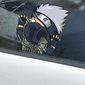 Naruto Kakashi Hitting the Glass Sticker Car Decal anime-store