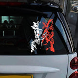 Naruto Reflective Car Stickers/Laptop Decal anime-store
