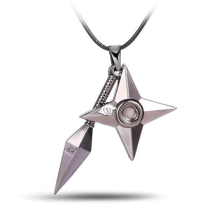 Naruto Shuriken Ninjia Necklace anime-store