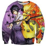 Naruto Six Paths and Sasuke Rinnegan Sweater anime-store