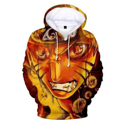 Naruto Ultimate Rage Hoodie anime-store