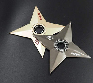New Collector's Metallic Rotating Shuriken anime-store