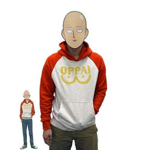 One Punch Man The Oppai Hoodie anime-store