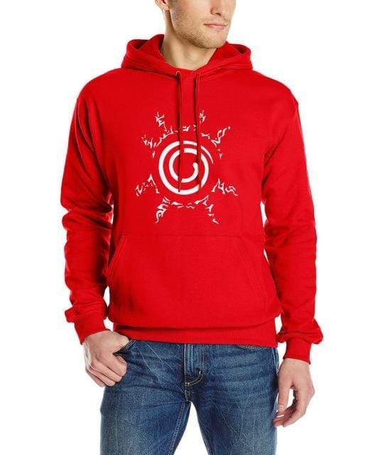 Red Naruto Seal Hoodie anime-store