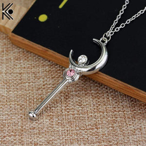 Sailor Moon Silver Necklace anime-store