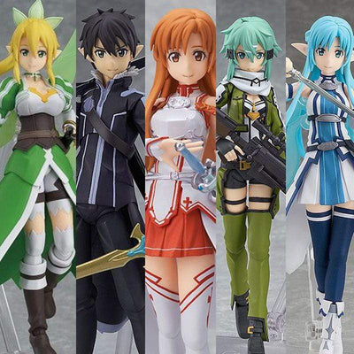 SAO Collector's Figures! 14cm (6 Options) anime-store