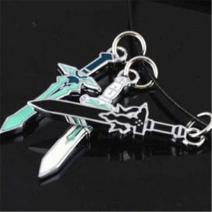 Sword Art Online Asuna, Kirito, Kazuto Sword Necklace SAO anime-store