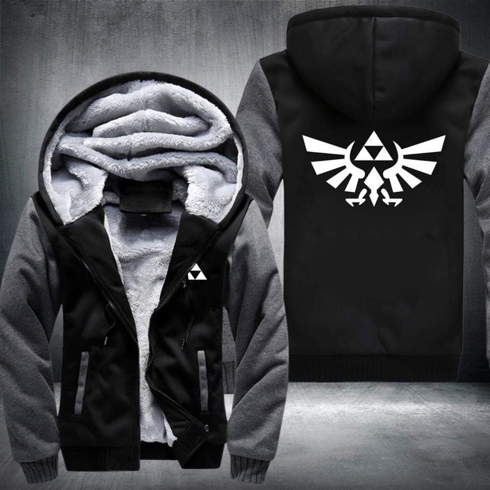 The Legend of Zelda Fleece Zip Jacket anime-store
