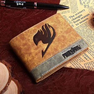 New Leather Anime Specialty Wallets