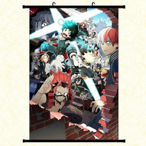 NEW Boku No Hero Academia Wall Scroll