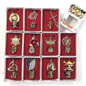 Various Ring + Necklace Collection! anime-store