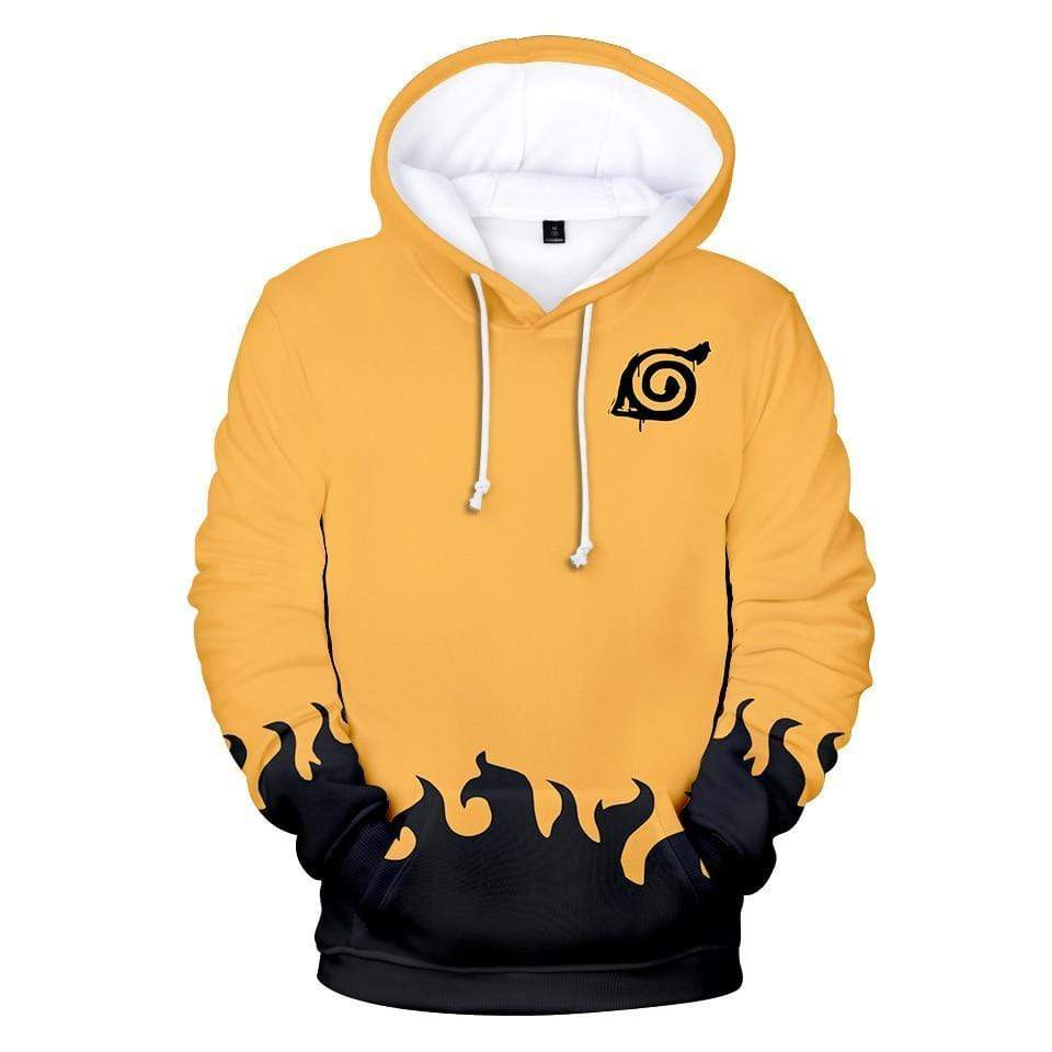 Yellow Sage Mode Hoodie anime-store