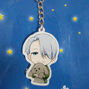 YURI!! on ICE! Cute Character Keychains anime-store