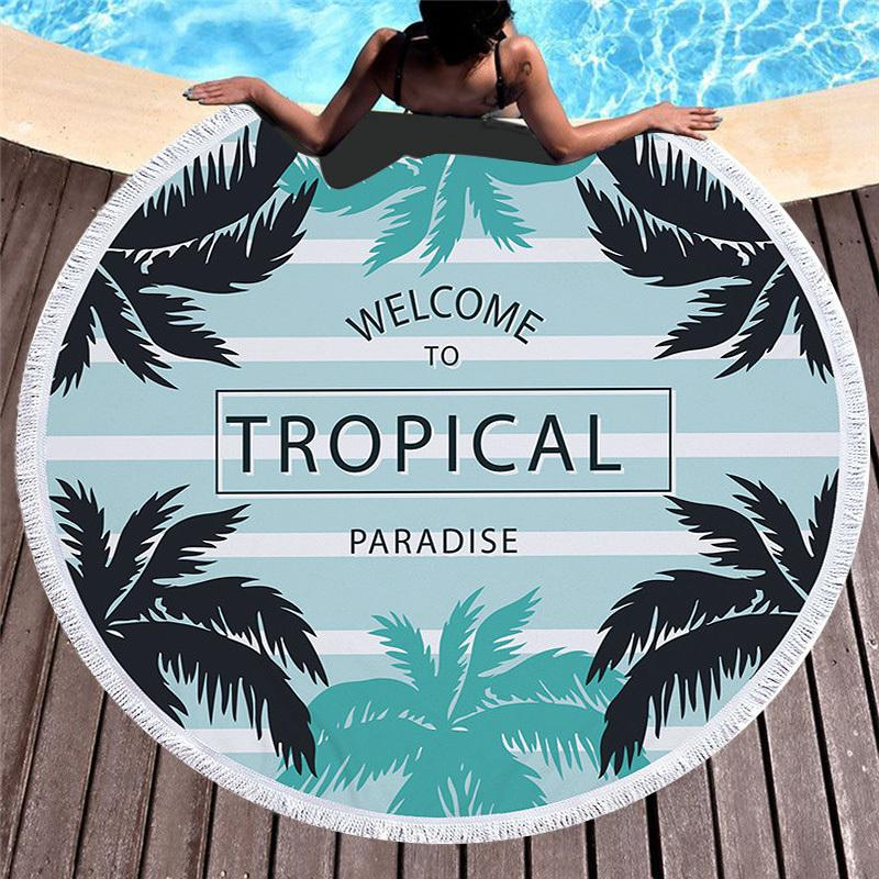 Towel: Welcome to Tropical Paradise - Towels - Elements of Summer
