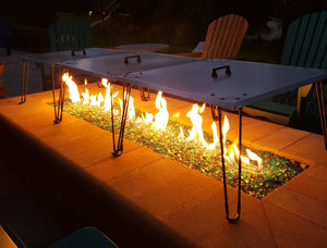 Heat Warden Heat Deflector Reflector For Gas Fire Pits