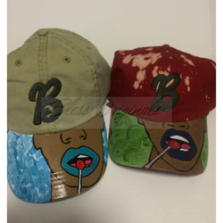 Hand painted Dad Hats – Tagged