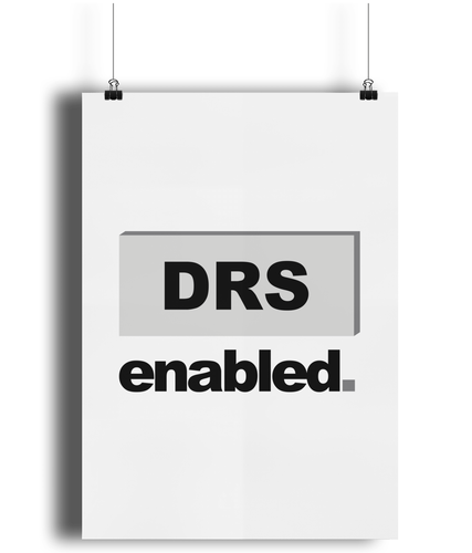 DRS enabled Poster