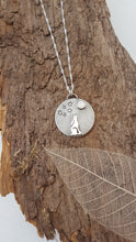 Sterling Silver moon gazing hare - Anna Ancell Jewellery