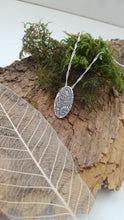 Fine silver vine and flower pendant - Anna Ancell Jewellery