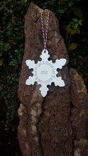 Engraved snowflake decoration - Anna Ancell Jewellery