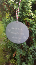 Engraved Bauble Christmas Decoration - Anna Ancell Jewellery