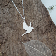 Sterling silver dove - Anna Ancell Jewellery