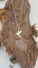 Sterling silver Hummingbird pendant - Anna Ancell Jewellery