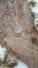 Sterling silver beach hut and gull pendant - Anna Ancell Jewellery
