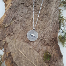 Sterling Silver 'Wader' pendant - Anna Ancell Jewellery