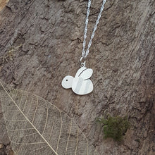 Sterling silver Bee pendant - Anna Ancell Jewellery