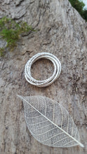 Sterling Silver 5 band entwined Ring - Anna Ancell Jewellery