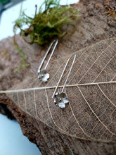 Cherry Blossom earrings - Handmade in 925 Sterling silver - Anna Ancell Jewellery
