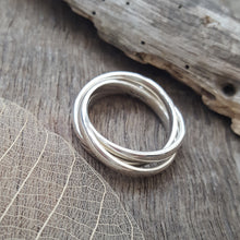Sterling Silver Chunky Entwined Ring - Anna Ancell Jewellery